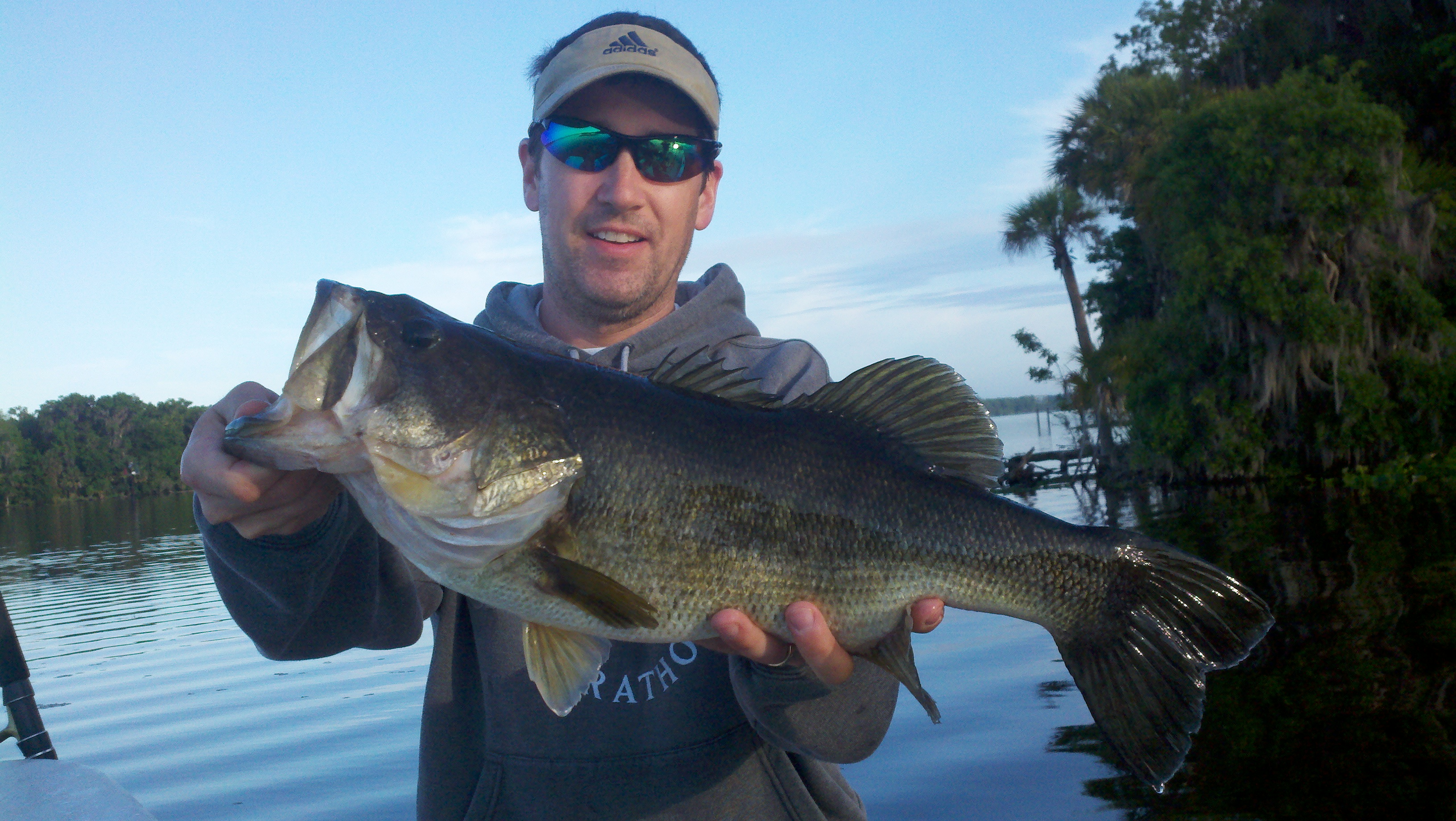 Carl randy and heath bass fishing florida lakes for Best bass fishing in florida